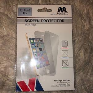2 Pack iPhone 6 Plus Screen Protectors